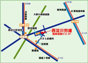 スマイル西淀地図